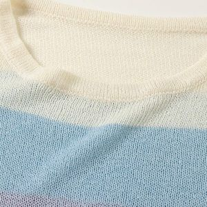 boutique Sweaters - Thin Knit Striped Sold Out Sweater - NWT!
